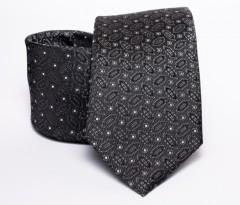 Prémium nyakkendő -  Fekete mintás Aprómintás nyakkendők