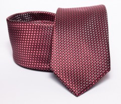 Prémium nyakkendő -  Bordó mintás Aprómintás nyakkendők