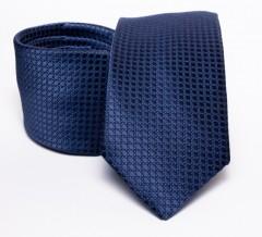 Prémium nyakkendő - Sötétkék pöttyös Aprómintás nyakkendők