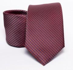 Prémium nyakkendő - Bordó mintás