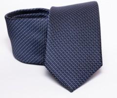 Prémium nyakkendő - Sötétkék mintás Aprómintás nyakkendők