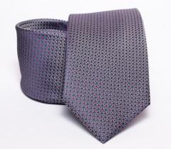 Prémium nyakkendő - Szürke mintás Aprómintás nyakkendők