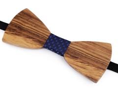 Fa csokornyakkendő - Fa-kék Csokornyakkendők