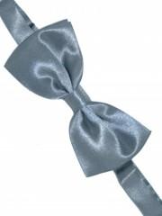 Zsorzsett szatén csokornyakkendőő - Szürke Csokornyakkendő