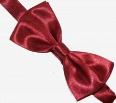 Zsorzsett szatén csokornyakkendő - Bordó