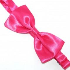 Zsorzsett szatén csokornyakkendő - Pink
