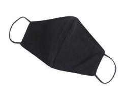 Pamut szájmaszk - Fekete Egészségügyi maszkok