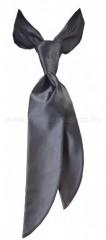 Zsorzsett női sálkendő - Sötétszürke Női nyakkendők