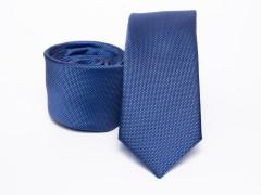 Prémium selyem selyem nyakkendő - Kék Selyem nyakkendők