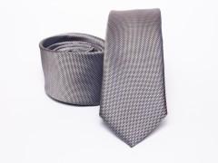 Prémium selyem selyem nyakkendő - Szürke Selyem nyakkendők