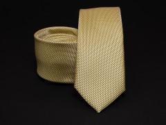 Prémium selyem selyem nyakkendő - Sárga Selyem nyakkendők