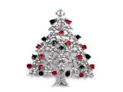 Bross csiszolt kövek karácsony fa