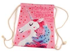 Egyszarvú mintás hátizsák Gyerek táska, pénztárca