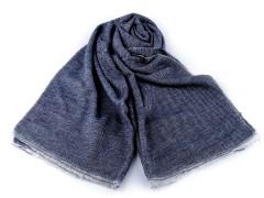 Akril téli sál - Kék
