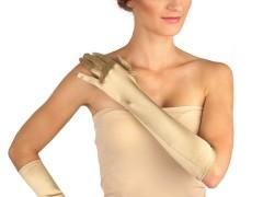Alkalmi szatén kesztyű - Arany Női kesztyű