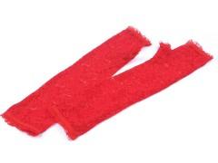 Hosszú alkalmi csipkekesztyű ujjatlan - Piros Női kesztyű