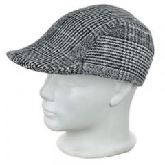 Kockás férfi golf sapka Férfi kalap, sapka