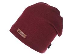 Unisex sapka lurexel - Bordó Férfi kalap, sapka
