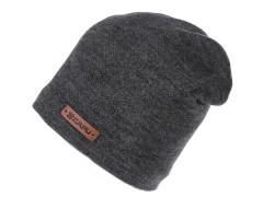 Unisex sapka lurexel - Grafit Férfi kalap, sapka