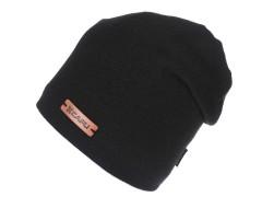 Unisex sapka lurexel - Fekete Férfi kalap, sapka