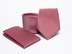 Prémium nyakkendő szett - Lazac pöttyös Normál nyakkendő
