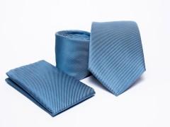 Prémium nyakkendő szett - Kék Normál nyakkendő