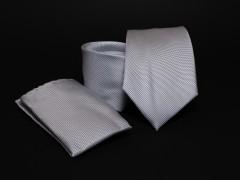 Prémium nyakkendő szett - Ezüst Normál nyakkendő