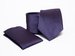Prémium nyakkendő szett - Lila Normál nyakkendő