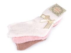 Női froté zokni csomag - 3 pár Női zoknik, harisnyák