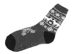 Férfi thermo téli zokni csúszásgátlóval Férfi zoknik, mamuszok