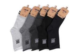 Férfi pamut zokni egészségügyi szegővel - 5 db/csomag Férfi zoknik, mamuszok