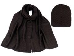 Női téli sapka és sál készlet  Női kalap, sapka