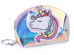 Holografikus pénztárca egyszarvú Gyerek táska, pénztárca