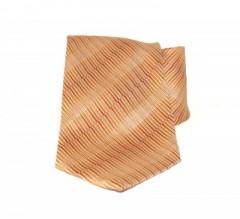 Saint Michael selyem nyakkendő - Narancs-sárga mintás