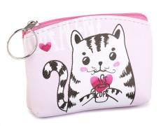 Kis gyerek pénztárca - Cica Gyerek táska, pénztárca