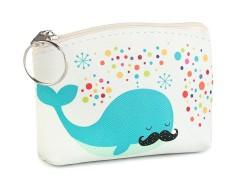 Kis gyerek pénztárca - Bálna Gyerek táska, pénztárca