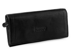 Női bőr pénztárca - Fekete Női táska, pénztárca