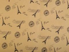 Csomagoló papir kétoldalas 12 ív - Párizs