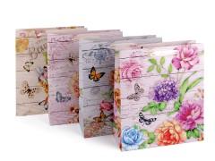 Ajándéktáska virág készlet - 4 db  Ajándék csomagolás