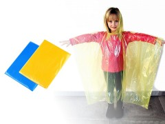 Gyerek esőkabát - eldobható Gyerek esernyő, esőkabát