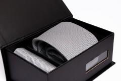 Prémium nyakkendő szett - Ezüst Nyakkendők