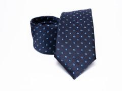 Prémium nyakkendő -  Sötétkék aprómintás Aprómintás nyakkendő