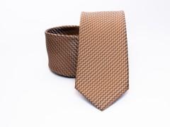 Prémium nyakkendő - Mogyoró Aprómintás nyakkendők