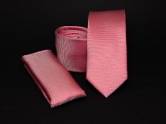 Prémium slim nyakkendő szett - Lazac Nyakkendő szettek