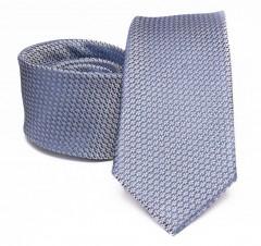 Prémium selyem nyakkendő - Világoskék Aprómintás nyakkendők