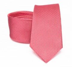 Prémium selyem nyakkendő - Lazacrózsaszín Selyem nyakkendők