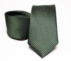 Prémium selyem nyakkendő - Zöld Aprómintás nyakkendők
