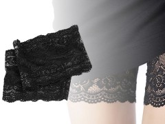 Combcsipke - Fekete Női zoknik, harisnyák
