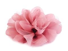Szifon virág - Korall Kitűzők, Brossok