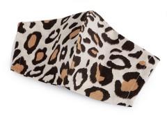 Pamut szájmaszk - Leopárd  Egészségügyi termékek